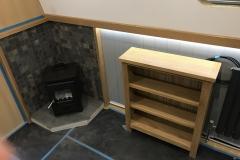 The stove & storage