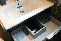 Under sink drawer unit