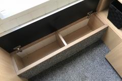 Front step storage