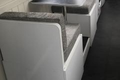 Multi-function aisle dinettes