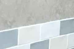 Galley tiling & wall covering
