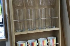 Glass & mug rack
