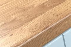 Wood grain worktop