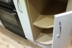 Rounded cupboard