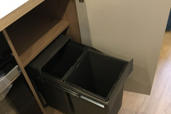 Mini recycling bin