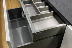 Double height, double function drawers